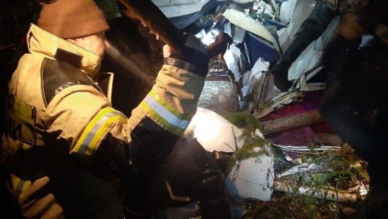 Четыре человека погибли в авиакатастрофе в Иркутской области